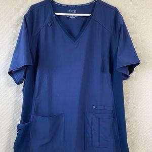 Cherokee iFlex Navy Nurse Scrub Top 3XL